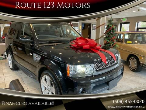 2011 Land Rover Range Rover Sport for sale at Route 123 Motors in Norton MA
