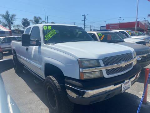 2003 Chevrolet Silverado 1500 for sale at North County Auto in Oceanside CA