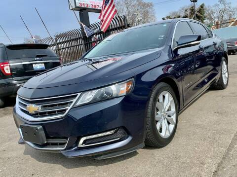 2018 Chevrolet Impala for sale at Gus's Used Auto Sales in Detroit MI