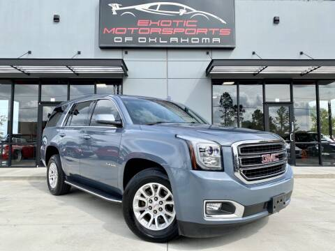 2016 GMC Yukon for sale at Exotic Motorsports of Oklahoma in Edmond OK