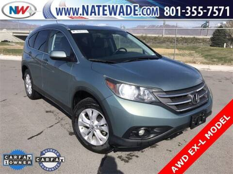 2012 Honda CR-V for sale at NATE WADE SUBARU in Salt Lake City UT