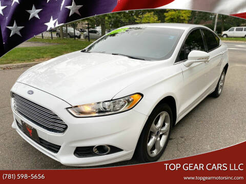 2016 Ford Fusion for sale at Top Gear Cars LLC in Lynn MA