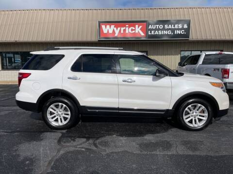 2014 Ford Explorer for sale at Wyrick Auto Sales & Leasing-Holland in Holland MI