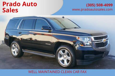 2015 Chevrolet Tahoe for sale at Prado Auto Sales in Miami FL
