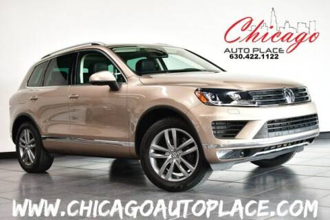 2016 Volkswagen Touareg for sale at Chicago Auto Place in Bensenville IL