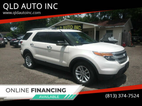 2014 Ford Explorer for sale at QLD AUTO INC in Tampa FL