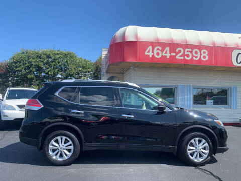 2015 Nissan Rogue for sale at Doug White's Auto Wholesale Mart in Newton NC