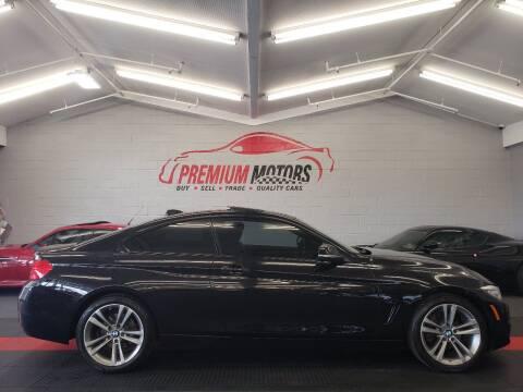 2014 BMW 4 Series for sale at Premium Motors in Villa Park IL