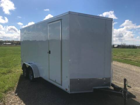 2022 Pace American 7x16 V-Nose Tandem Axle 7K
