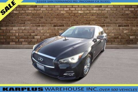 2015 Infiniti Q70 for sale at Karplus Warehouse in Pacoima CA