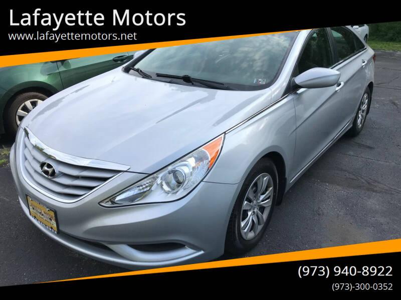 2012 Hyundai Sonata for sale at Lafayette Motors in Lafayette NJ