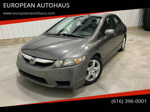 2010 Honda Civic for sale at EUROPEAN AUTOHAUS in Holland MI