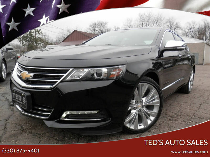 2018 Chevrolet Impala for sale at Ted's Auto Sales in Louisville OH