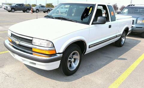1998 Chevrolet S-10 for sale at BELOW BOOK AUTO SALES in Idaho Falls ID