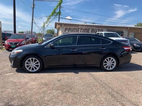 2015 Toyota Avalon for sale at Primetime Auto in Corpus Christi TX