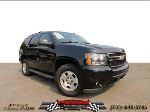 2013 Chevrolet Tahoe for sale at PRIME MOTORS LLC in Arlington VA