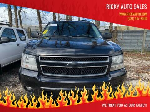 2007 Chevrolet Avalanche for sale at Ricky Auto Sales in Houston TX