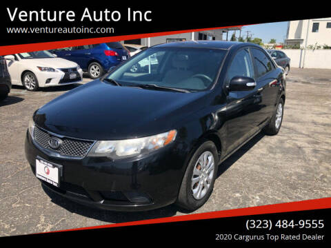 2010 Kia Forte for sale at Venture Auto Inc in South Gate CA