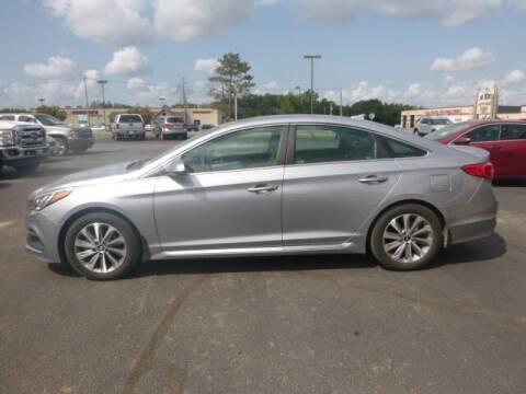 2015 Hyundai Sonata for sale at JIM WOESTE AUTO SALES & SVC in Long Prairie MN
