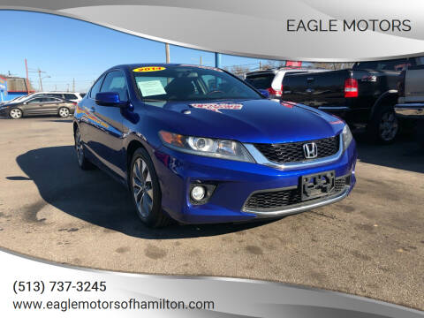 2014 Honda Accord for sale at Eagle Motors in Hamilton OH