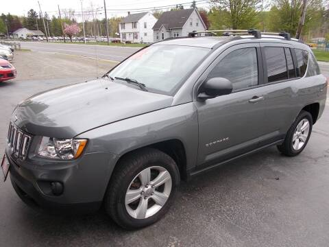 2012 Jeep Compass for sale at Dansville Radiator in Dansville NY