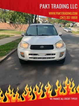 2003 Toyota RAV4 for sale at Pak1 Trading LLC in South Hackensack NJ