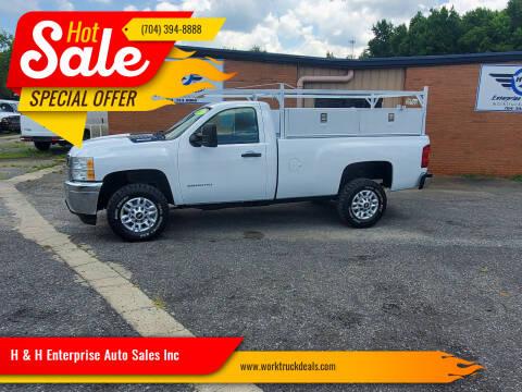 2013 Chevrolet Silverado 2500HD for sale at H & H Enterprise Auto Sales Inc in Charlotte NC