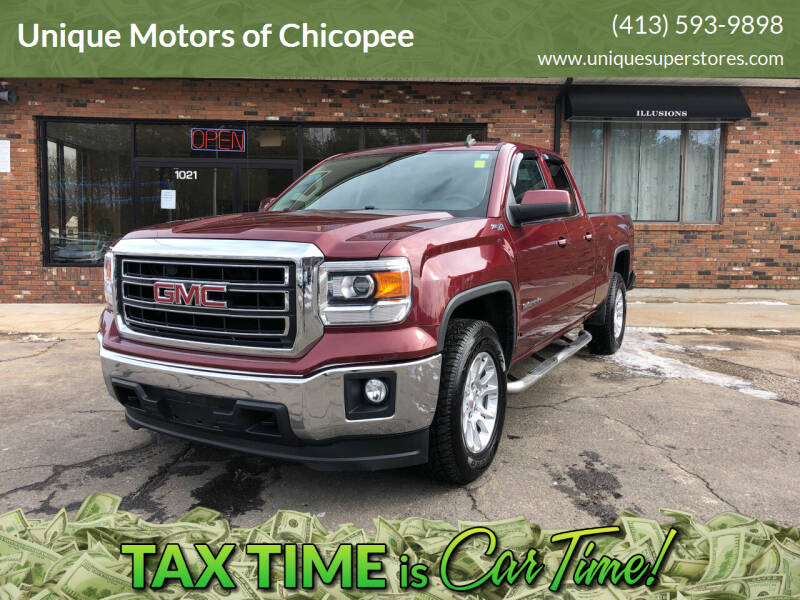 2014 GMC Sierra 1500 for sale at Unique Motors of Chicopee in Chicopee MA