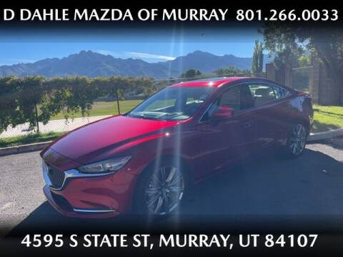 2019 Mazda MAZDA6 for sale at D DAHLE MAZDA OF MURRAY in Salt Lake City UT