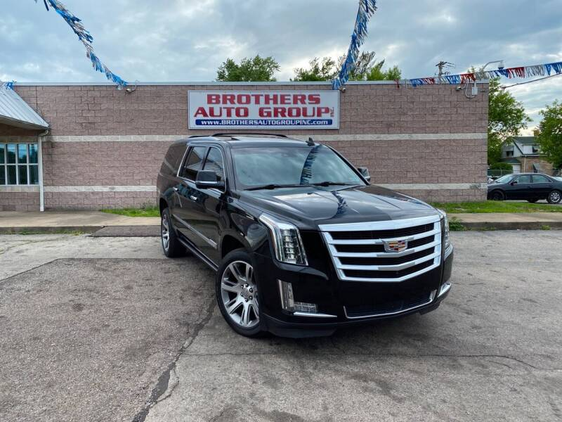 2015 Cadillac Escalade ESV for sale at Brothers Auto Group in Youngstown OH