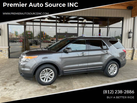 2015 Ford Explorer for sale at Premier Auto Source INC in Terre Haute IN