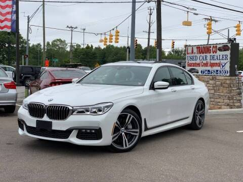 2019 BMW 7 Series for sale at L.A. Trading Co. in Woodhaven MI