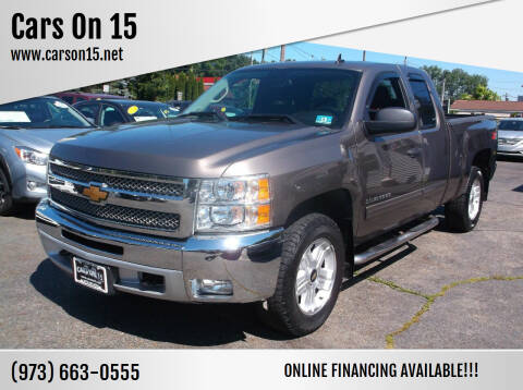 2013 Chevrolet Silverado 1500 for sale at Cars On 15 in Lake Hopatcong NJ