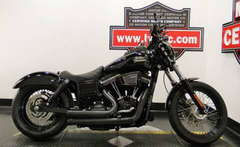 2017 Harley-Davidson DYNA STREET BOB for sale at Certified Motor Company in Las Vegas NV