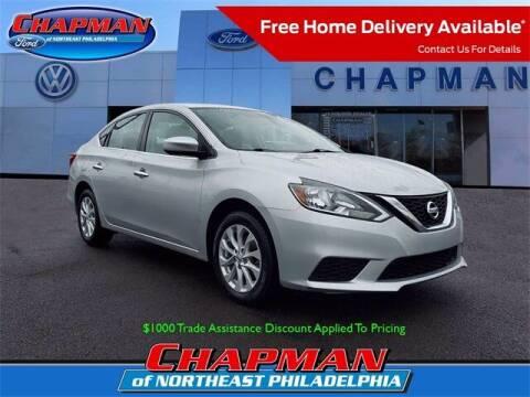 2018 Nissan Sentra for sale at CHAPMAN FORD NORTHEAST PHILADELPHIA in Philadelphia PA