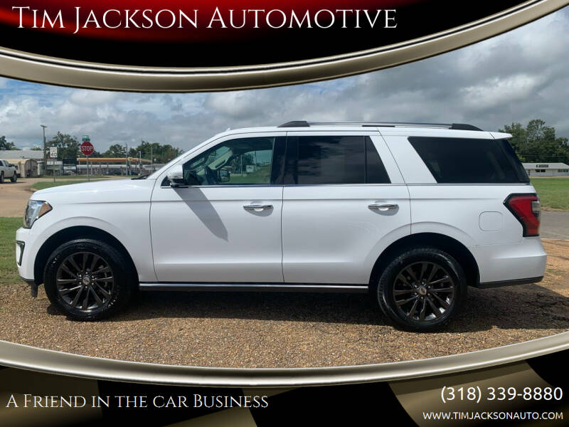 2019 Ford Expedition for sale at Tim Jackson Automotive in Jonesville LA
