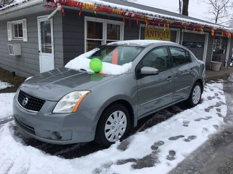 2008 Nissan Sentra for sale at Antique Motors in Plymouth IN