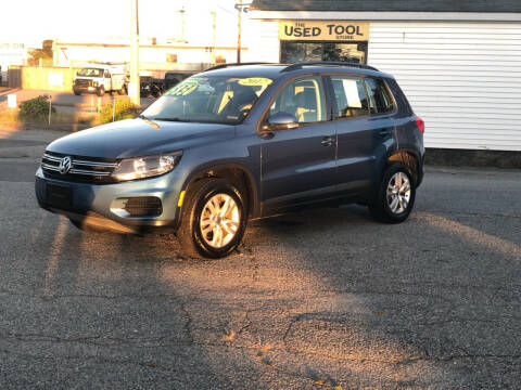 2017 Volkswagen Tiguan for sale at HYANNIS FOREIGN AUTO SALES in Hyannis MA