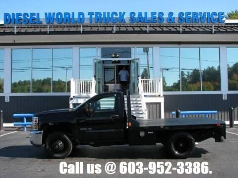 2019 Chevrolet Silverado 3500HD CC for sale at Diesel World Truck Sales in Plaistow NH