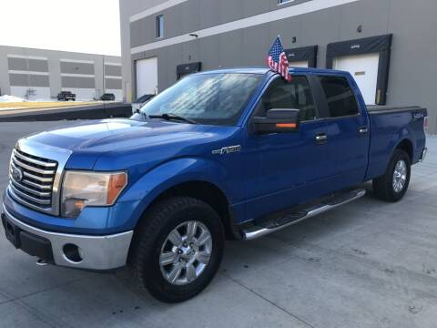 2010 Ford F-150 for sale at Angies Auto Sales LLC in Newport MN