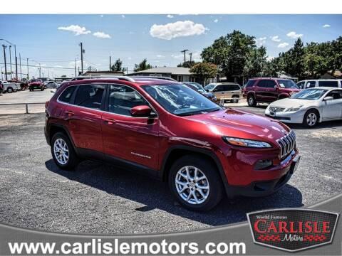 2015 Jeep Cherokee for sale at Carlisle Motors in Lubbock TX
