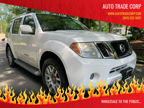 2010 Nissan Pathfinder for sale at AUTO TRADE CORP in Nanuet NY