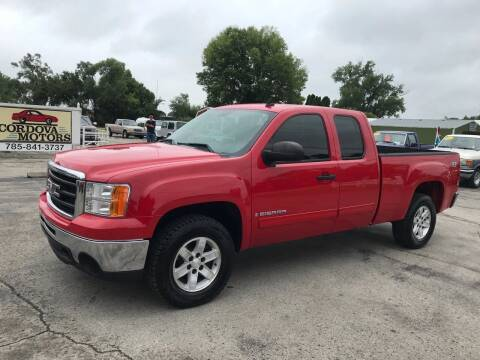 2009 GMC Sierra 1500 for sale at Cordova Motors in Lawrence KS