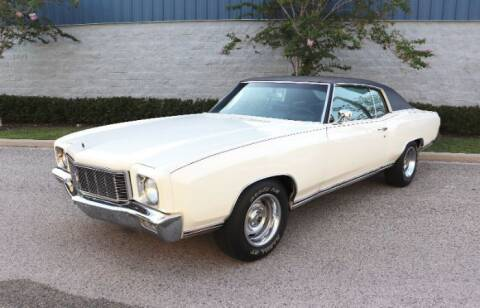 1971 Chevrolet Monte Carlo for sale at Classic Car Deals in Cadillac MI