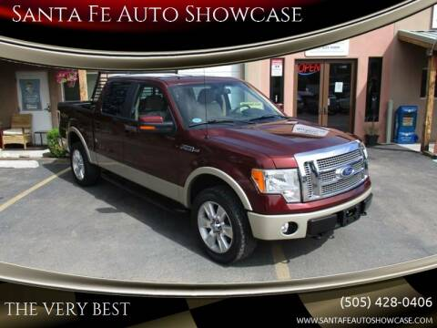 2010 Ford F-150 for sale at Santa Fe Auto Showcase in Santa Fe NM