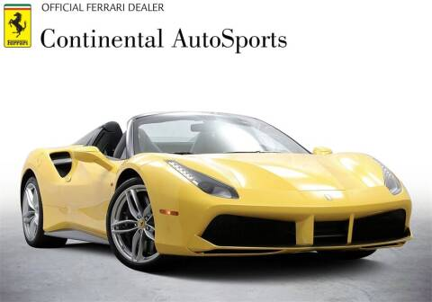 2017 Ferrari 488 Spider for sale at CONTINENTAL AUTO SPORTS in Hinsdale IL