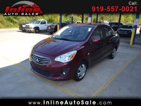 2017 Mitsubishi Mirage G4 for sale at Inline Auto Sales in Fuquay Varina NC