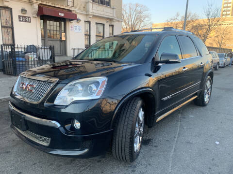 2012 GMC Acadia for sale at Gallery Auto Sales in Bronx NY