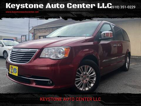 2013 Chrysler Town and Country for sale at Keystone Auto Center LLC in Allentown PA
