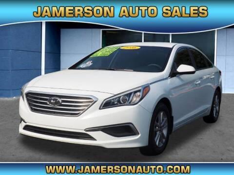 2016 Hyundai Sonata for sale at Jamerson Auto Sales in Anderson IN